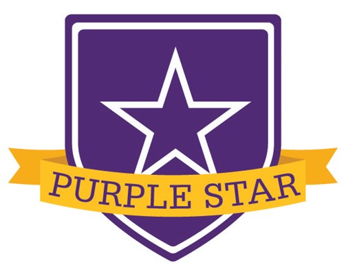 Marlington Receives Purple Star Award