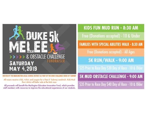DUKE Melee 5K 2019