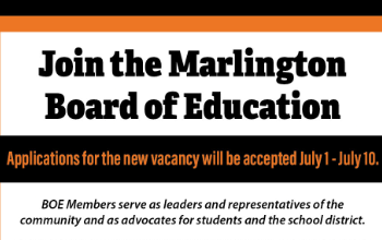 Join the Marlington Board of Education