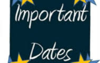 Important Dates - Elementary Assignment Letters/Open Enrollment/Kindergarten Roundup