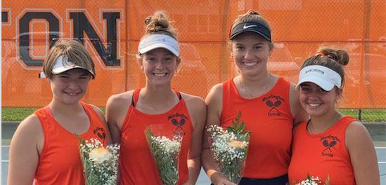 Girls Tennis Seniors 2021