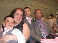 Mrs. Schneider and Family