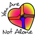 YOU ARE NOT ALONE CLIPART